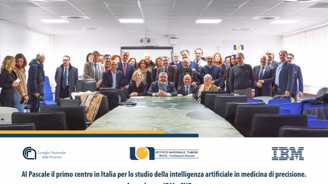Napoli. L'intelligenza artificiale al servizio della medicina di precisione. Al via partnership Pascale, Cnr e Ibm