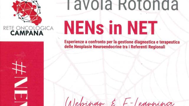 28.09.2021 // Tavola rotonda NENs in NET – Esperienze a confronto per la gestione diagnostica e terapeutica delle Neoplasie Neuroendocrine tra i Referenti Regionali
