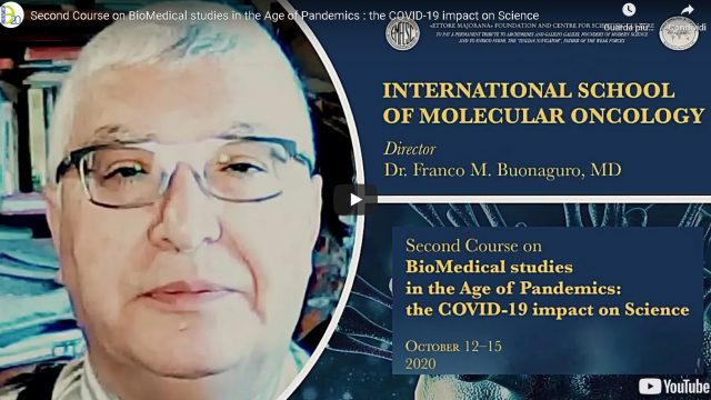Corso virtuale su BioMedical studies in the Age of Pandemics: the COVID-19 impact on Science