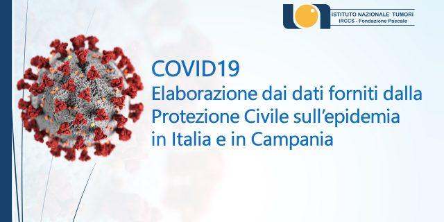 COVID19 Elaborazione dai dati forniti dalla Protezione Civile sull'epidemia  in Italia e in Campania