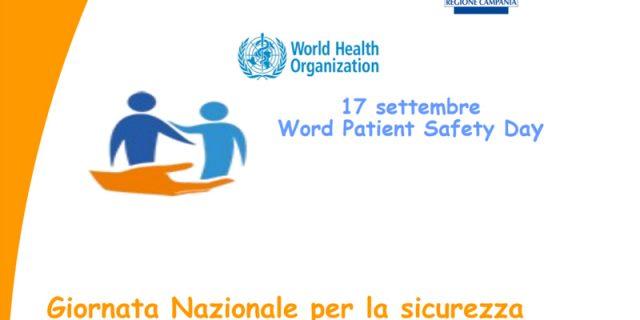 Giornata nazionale per la sicurezza delle cure e della persona assistita