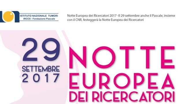 Notte Europea dei Ricercatori 2017